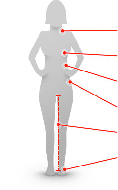 Measuring Guide - Female